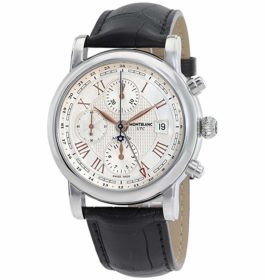 MontBlanc Star Roman UTC Chronograph Automatic Men's Watch 113880