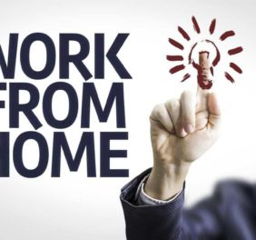 Stay at home job. On...