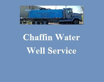 Chaffin Water Well S...