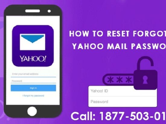 Yahoo Mail Password Reset Number