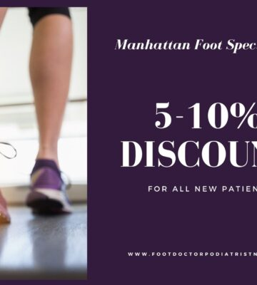 Discount from Manhattan Foot Specialists Union Square for all new patients